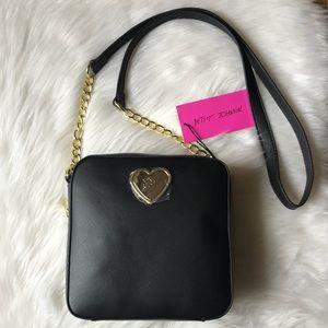 ⭐️SALE⭐️ Betsey Johnson Black Crossbody Bag